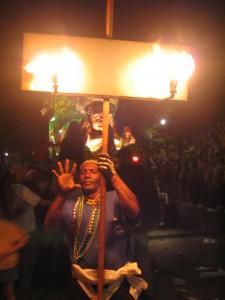 new orleans mardi gras flambeau