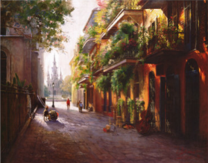 french quarter new orleans painting