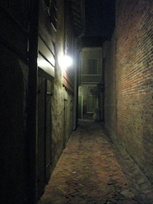 New Orleans French Quarter alley