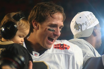 Drew Brees Super Bowl XLIV 2010