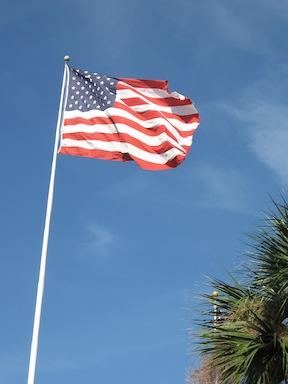 new orleans american flag
