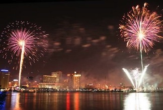 new orleans fireworks