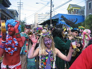 Mardi Gras Day, New Orleans: Krewe of Kosmic D...