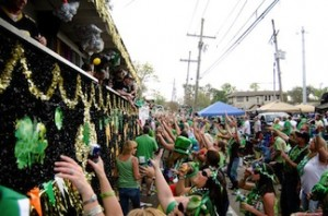 st. patricks day parade new orleans