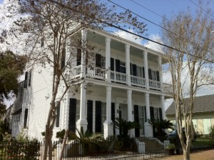 Home in New Orleans gentrified Bywater area.