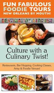 Destination Kitchen, a New Orleans company, now offers fantastic food tours.