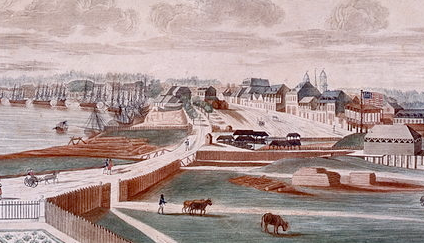 New Orleans in its founding years.