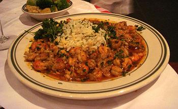 English: A traditional Creole/Cajun cuisine cr...