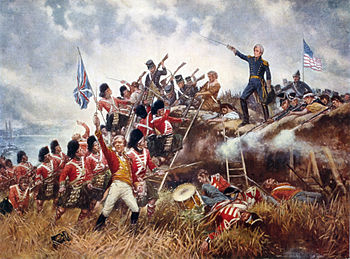 English: The Battle of New Orleans. General An...