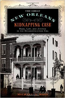 A new book of a real whodunit that takes place in New Orleans during Reconstruction.