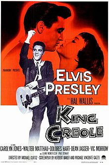 King Creole, one of Elvis Presley's best movies, is set in New Orleans French Quarter.