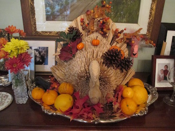 What happens if you let a turkey dry out too much... he he... or just a decoration on the sideboard
