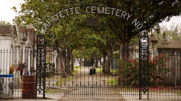 Lafayette Cemetery-New Orleans is one scary city