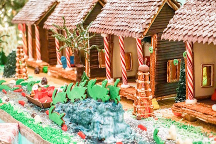 New Orleans gingerbread