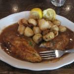 Cajun Catfish at Mandina's in New Orleans