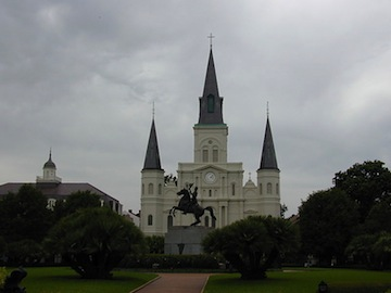Saint Louis Cathedral New Orleans weather