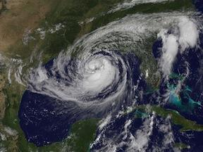 hurricane isaac new orleans