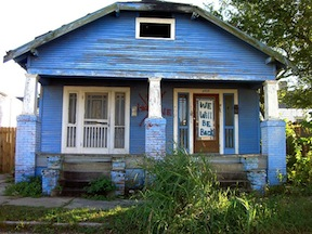new orleans disaster tourism ninth ward