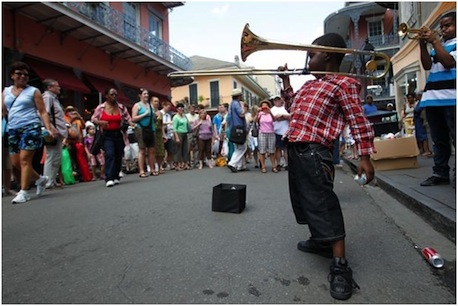 Great music -- one of the man reasons to move to New Orleans.