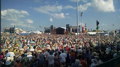Massive crowds at the New Orleans Jazz Fest have many folks about the safety of the annual celebration.