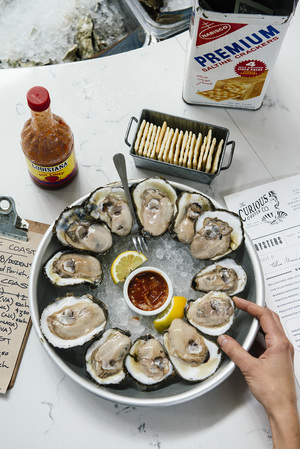 After all our oysters from the Gulf of Mexico are the best hands down.
