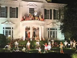 Spooky house on St. Charles Ave - New Orleans is one scary city